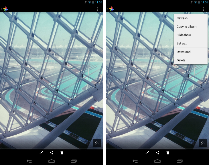 androidlightbox2 An in depth guide to Google+ for photographers: Storage, editing, sharing and more