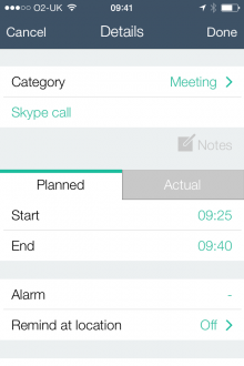 c6 220x330 Time Planner for iPhone is a beautiful way to manage your time more efficiently