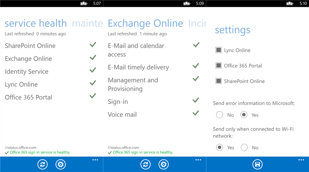 Microsoft launches Office 365 Admin for Windows Phone, Android and iOS apps to follow