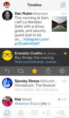 Tweetbot 3 for iPhone gets right swipe gesture, text resizing and more