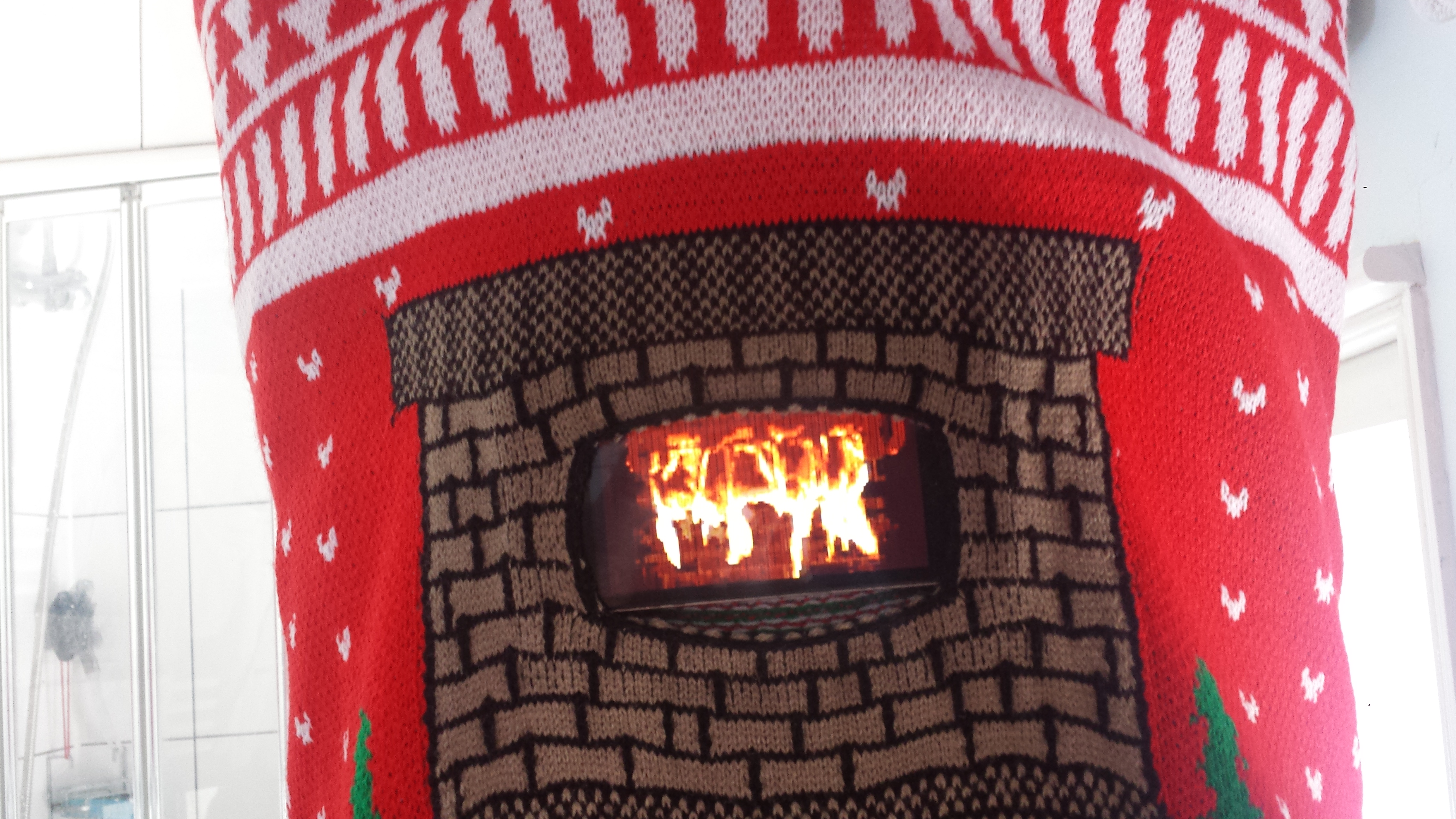 Digital Dudz bring ugly Christmas sweaters to life with the help of your smartphone