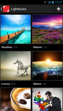 Android App 1 220x391 Shutterstock launches an Android app to let you browse its 31m+ images on the move