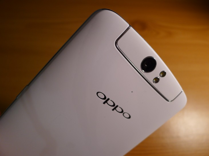 P1040719 730x547 Oppo N1 review: The giant CyanogenMod smartphone delivers with an impressive 13MP rotating camera
