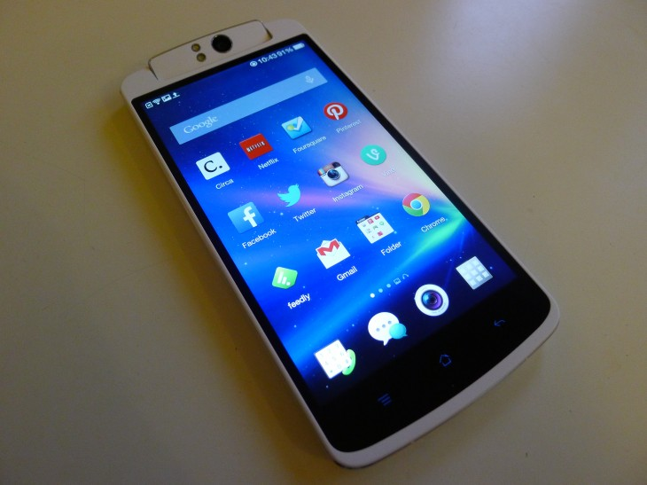 P1040859 730x547 Oppo N1 review: The giant CyanogenMod smartphone delivers with an impressive 13MP rotating camera