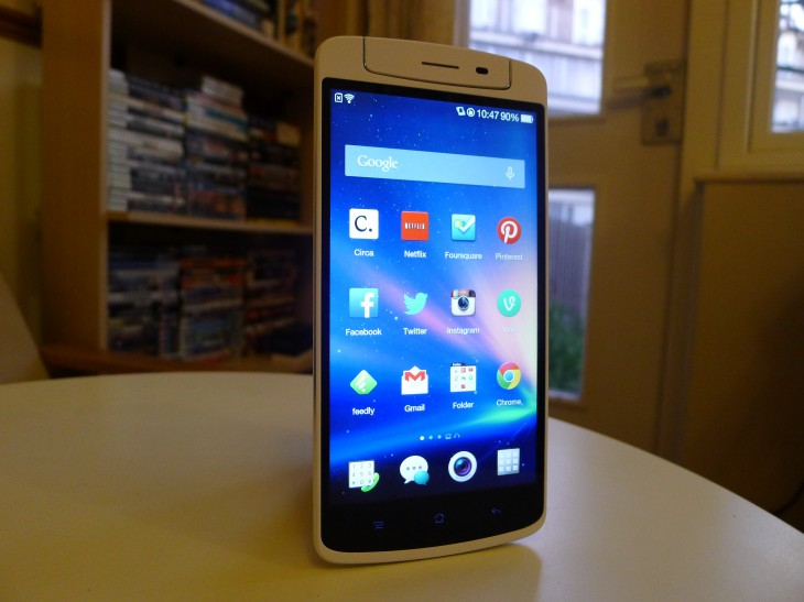 P1040869 730x547 Oppo N1 review: The giant CyanogenMod smartphone delivers with an impressive 13MP rotating camera