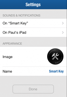 Photo 05 12 2013 15 30 57 220x317 The Elgato Smart Key taps Bluetooth LE to help find your keys and remember where your cars parked