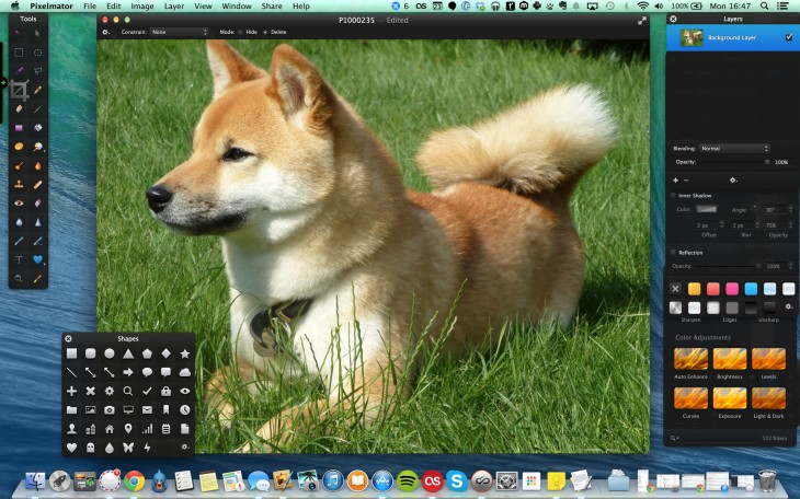 Pixelmator 730x456 So, you've just got a Mac? Download these apps first