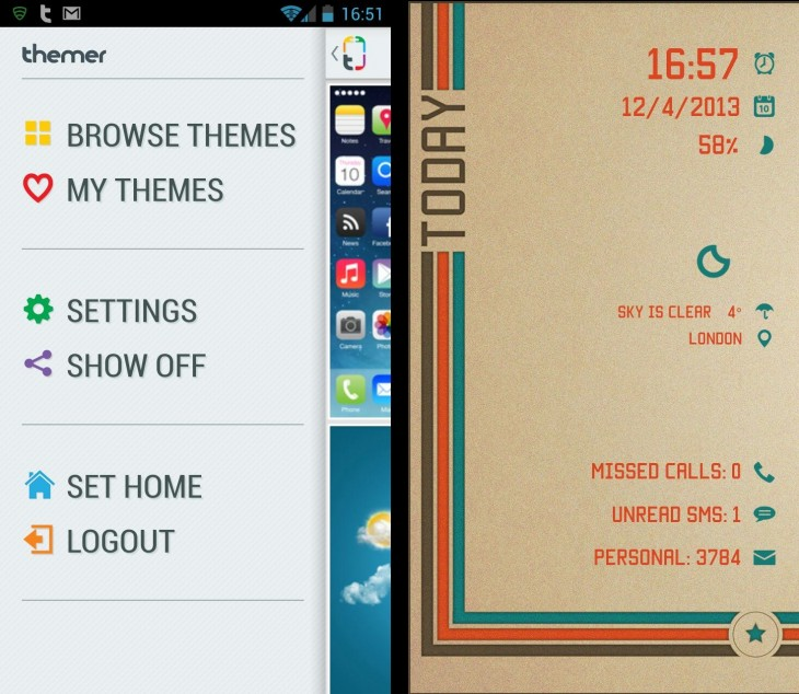 Themer2 730x634 11 of the best Android launchers and home screen replacements you can download today
