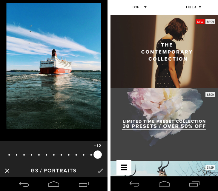 Vsco1 So you've just got an Android device? Download these apps first