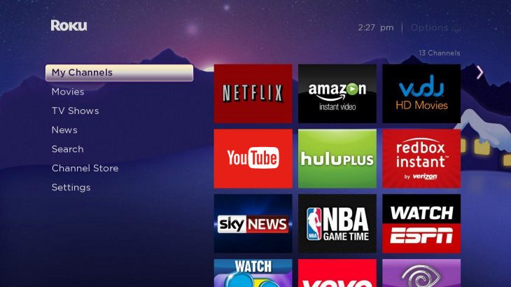 YouTube Roku 2 730x410 YouTube channel debuts on the Roku 3 in the US, Canada, UK and Republic of Ireland
