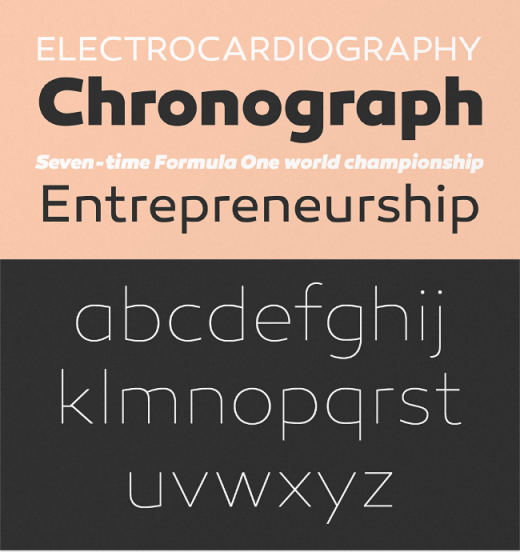canaro 520x552 The most beautiful typefaces from this past month