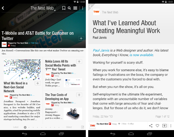 flipboard1 10 must have Android apps for keeping on top of the news