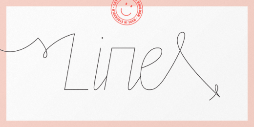 line 520x260 The best typefaces of 2013