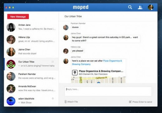 Wunderlist maker acquires, shuts down business messaging service Moped