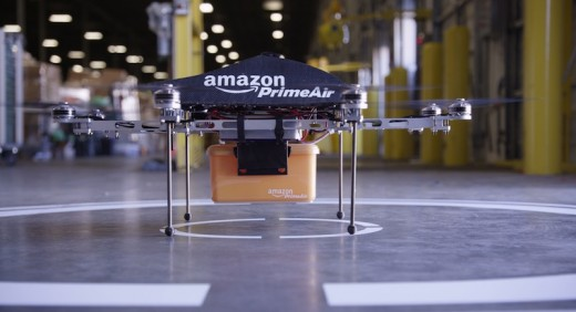 prime air high resolution01 520x282 Amazon plans to deliver packages via drones within the next 4 5 years [Video]