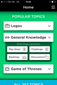 quizup 89 of the best iOS apps launched in 2013