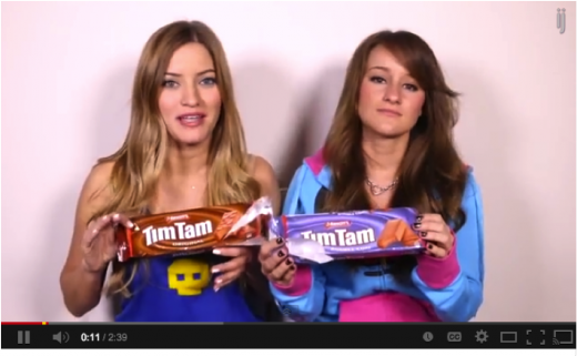 timtam youtube 520x321 Want to increase your brands relevancy? Partner up with tween YouTube stars