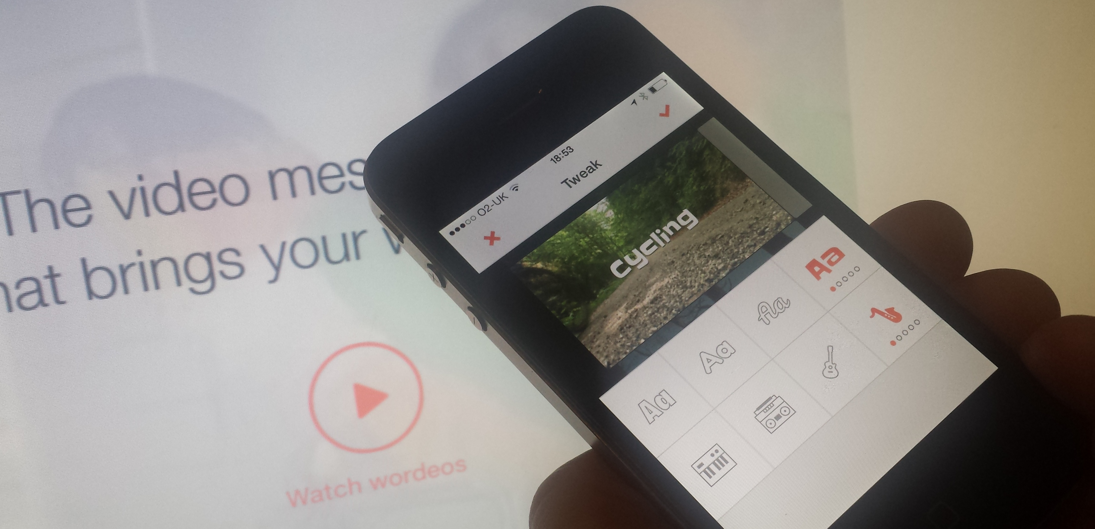 Wordeo: A new video-messaging social network that lets you tap Getty for content