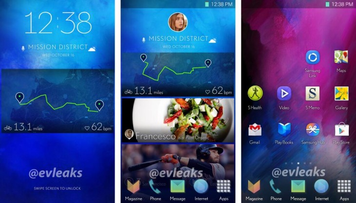 BdYhAJ CEAAVdls 730x418 Leak suggests Samsungs revamped TouchWiz UI will include Google Now like notifications