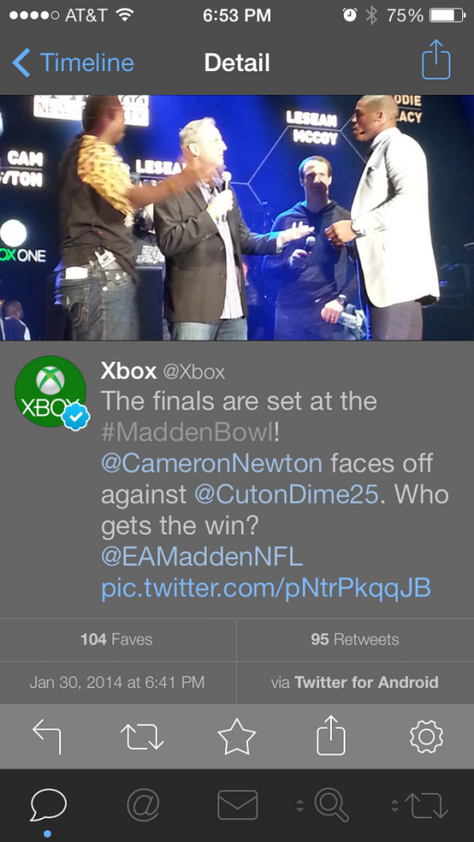 BfRqxP1CUAADbt0 520x923 Oops   Microsofts Xbox team caught tweeting from an Android device