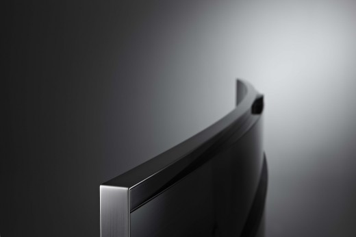 Curved UHDU9000 top 520x346 Samsung unveils a curved ultra high definition TV, while LG announces a flexible curved TV