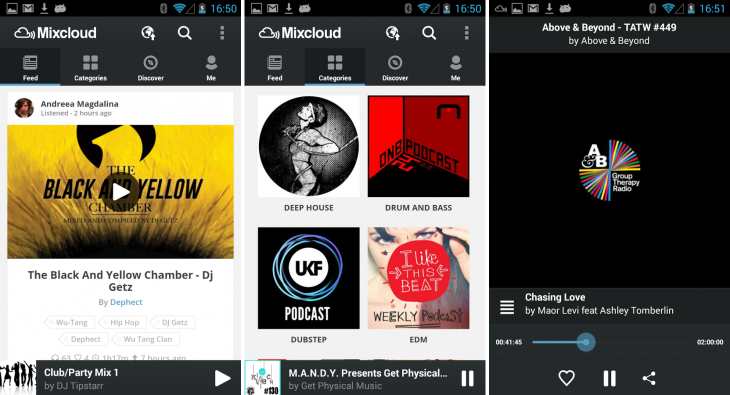 Mixcloud android 730x395 15 of the best music streaming platforms online today. Which one is best for you?