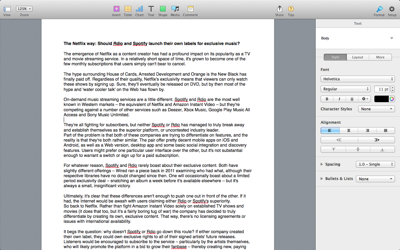 how to delete a whole page in word for mac