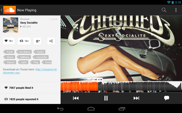Soundcloud androidtablet 730x456 15 of the best music streaming platforms online today. Which one is best for you?