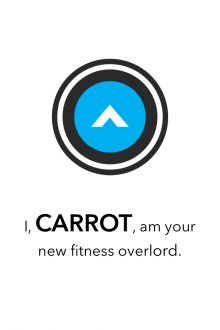 b6 220x330 Carrot Fit for iPhone wants to transform your flabby carcass into a grade A specimen of the human race