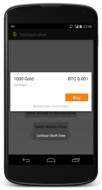 btc Coinbase releases an SDK to enable Bitcoin payments in Android apps