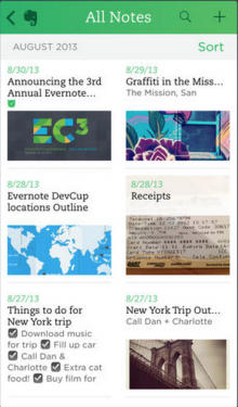 evernote 220x375 20 of the best productivity apps of 2013