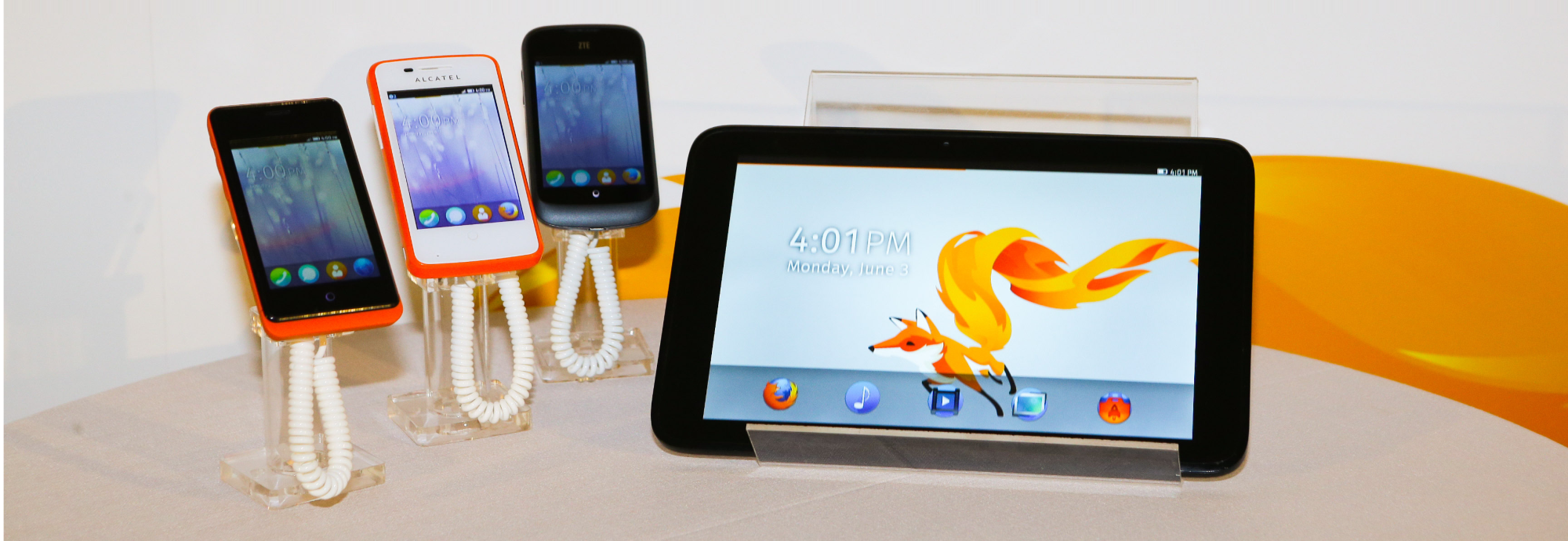 firefox os devices Mozilla partners with Panasonic to bring Firefox OS to the TV, details progress on tablet and desktop versions
