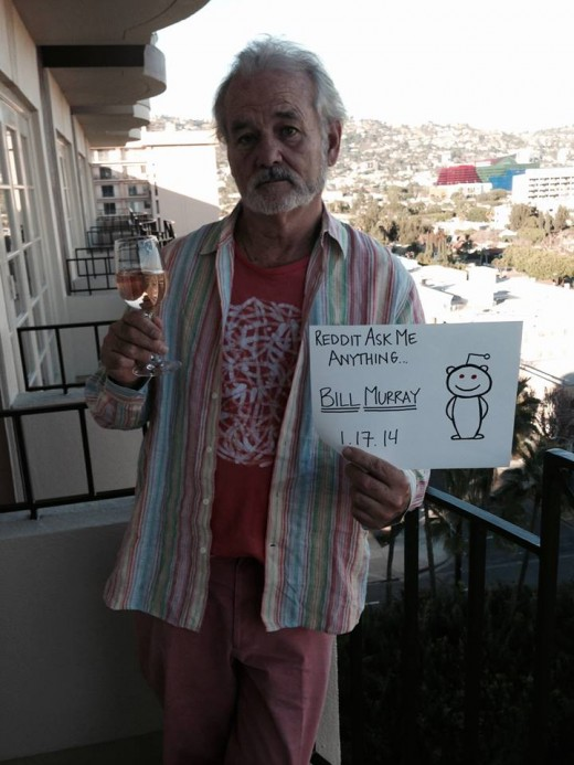 murray ama 520x693 Bill Murray takes to Reddit in a truly honest and funny AMA interview