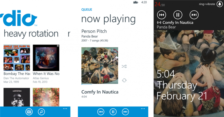 rdio windowsphone 730x382 15 of the best music streaming platforms online today. Which one is best for you?