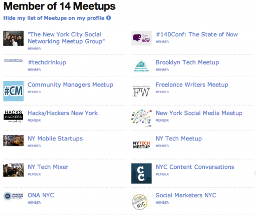 screenshot Meetups Profile 520x444 5 effective networking strategies in the digital age