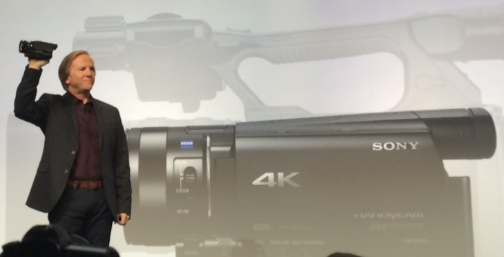 sonyhandycam 730x372 Sony focuses on play this year as it announces Netflix 4K partnership and new 4K Handycam