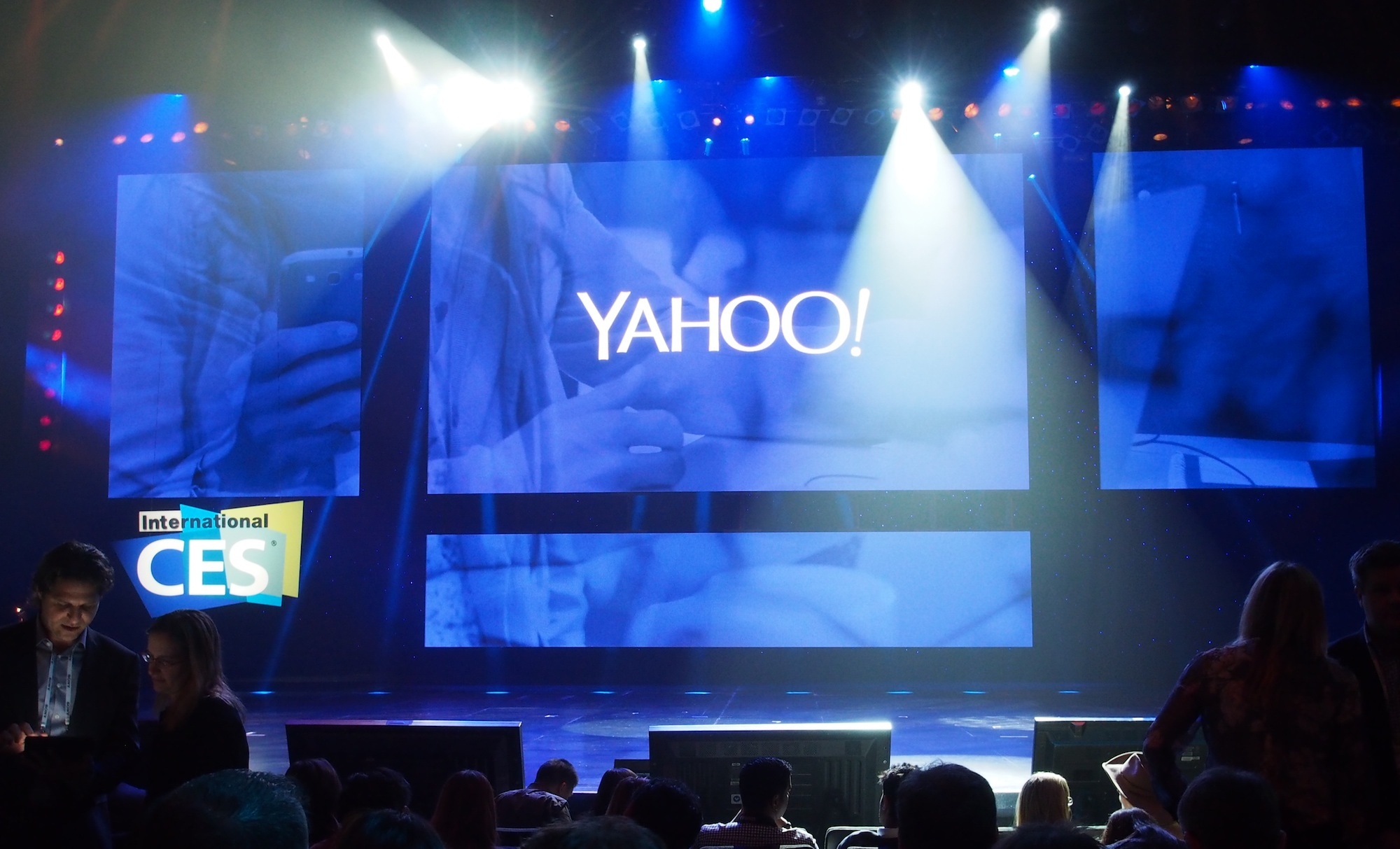 Marissa Mayer's star-studded CES keynote refocuses Yahoo as a media company
