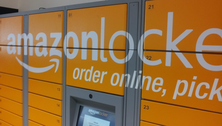 AmazonLocker 730x417 Getting physical: How digital companies are embracing bricks and mortar stores