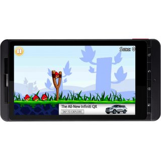 Angry Birds on Android Hits 3M Downloads Free with Google s AdMob 2 How to build effective mobile in app ads without irking your users (too much)