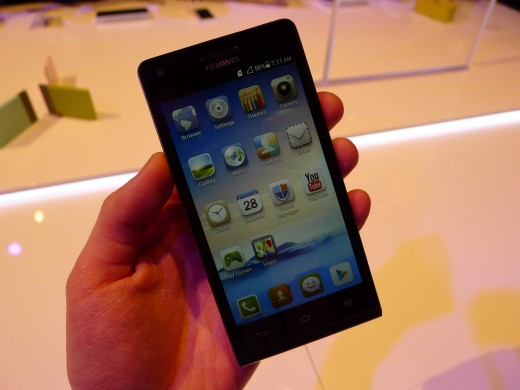 P1040952 520x390 Huawei unveils the Ascend G6, a skinny 4G enabled Android smartphone