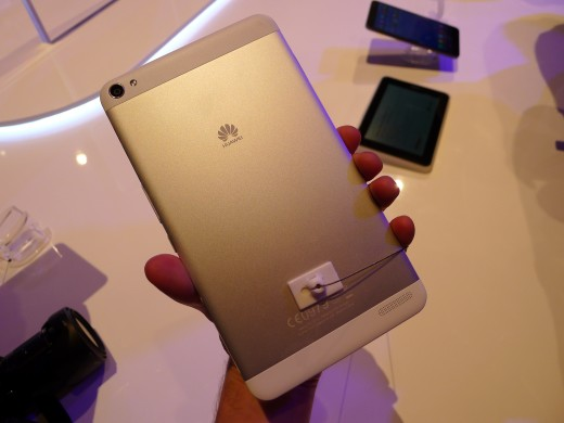 P1040994 520x390 Huawei launches pocket friendly MediaPad X1 and M1 Android tablets at MWC 2014
