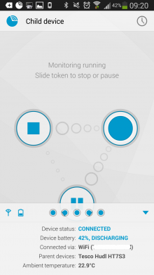 l 220x391 Dormi is an awesome baby monitor app for Android
