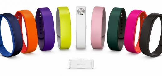 smartbandlo 520x245 Sony will launch its Core and SmartBand fitness tracker with new Lifelog app in March