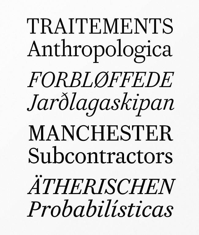 caponi Our favorite typefaces from February 2014