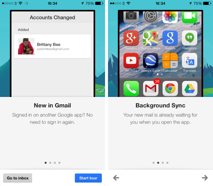 Gmail for iOS updated with background refresh and simplified sign-in across other Google apps