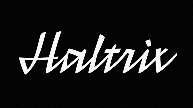 haltrix Our favorite typefaces from February 2014