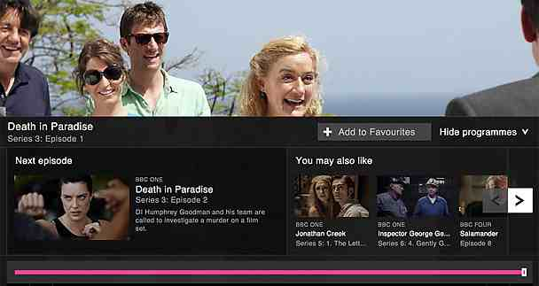 playback The BBC launches an all new redesigned responsive iPlayer, now features Collections of programmes