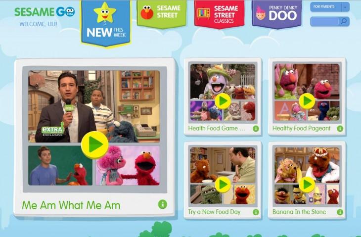 Sesame GO: Sesame Street's Very Own VOD Service