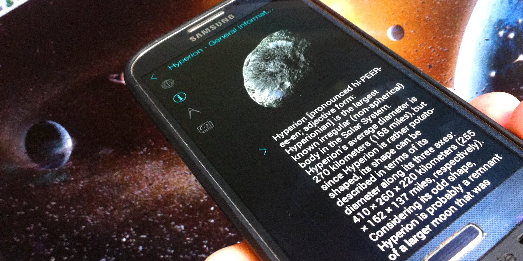 Solar Walk for Android Guides You Through Our Solar System