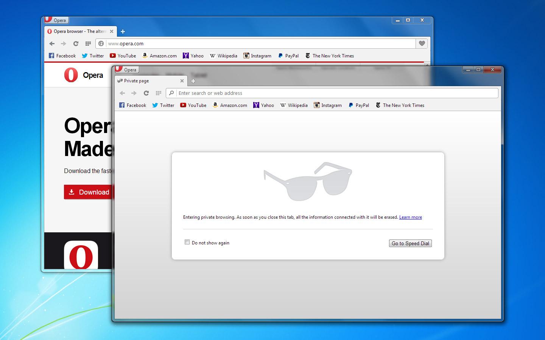 Почему тормозит опера в windows 7